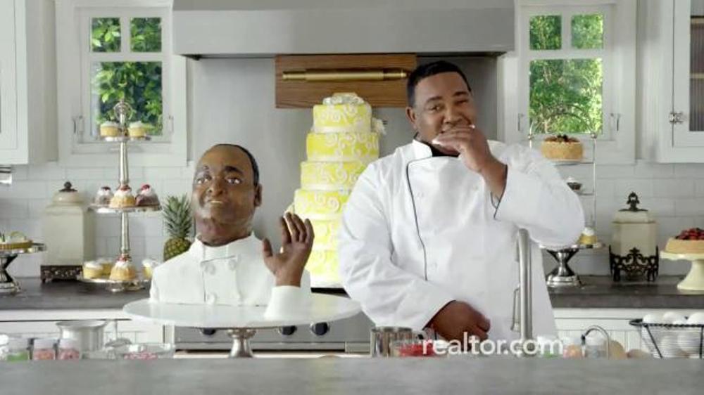 Realtor.com TV Commercial, 'Accuracy Matters: Cake Portrait Chef'