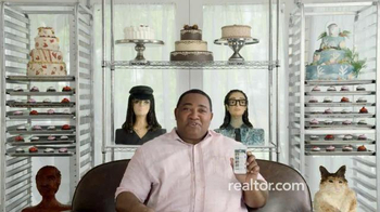 Realtor.com TV Spot, 'Accuracy Matters: Cake Portrait Chef' - Thumbnail 7