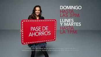 Macy's Venta del Día de los Veteranos TV Spot, 'Ahorros' [Spanish] - Thumbnail 7
