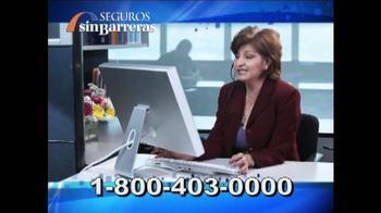 Seguros Sin Barreras TV Spot, 'Confianza, Ahorro y Tranqulidad' [Spanish] - Thumbnail 7