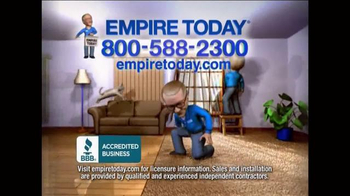 Empire Today $99 Room Sale TV Spot, 'Huge Sale' - Thumbnail 9