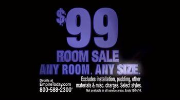 Empire Today $99 Room Sale TV Spot, 'Huge Sale' - Thumbnail 2