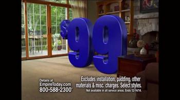 Empire Today $99 Room Sale TV Spot, 'Huge Sale' - Thumbnail 3