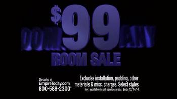 Empire Today $99 Room Sale TV Spot, 'Huge Sale' - Thumbnail 7