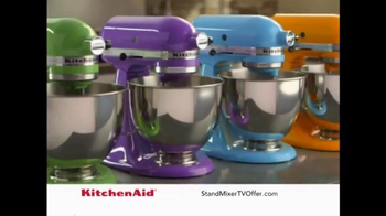 Kitchen Aid Stand Mixer TV Spot, 'Kitchen Staple' - 1143 commercial airings
