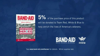 Band-Aid TV Spot, 'Help Support Our Veterans at Team Red, White & Blue' - Thumbnail 10