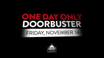 Ashley Furniture Homestore One Day Only Doorbuster TV Spot, 'November 14' - Thumbnail 2