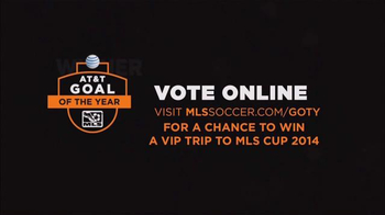 Major League Soccer TV Spot, '2014 AT&T Goal of the Year' - Thumbnail 10