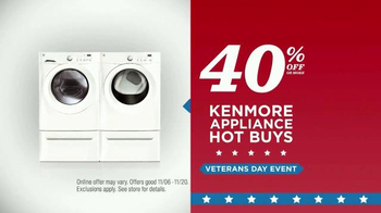 Sears Veterans Day Event TV Spot, 'Treat Yourself' - Thumbnail 6