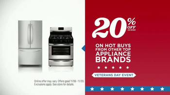 Sears Veterans Day Event TV Spot, 'Treat Yourself' - Thumbnail 8