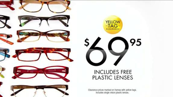 Visionworks Fashion Frames Clearance TV Spot, 'Your Best Face' - Thumbnail 7
