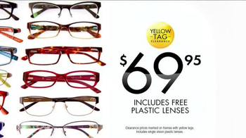 Visionworks Fashion Frames Clearance TV Spot, 'Your Best Face' - Thumbnail 8