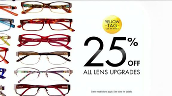 Visionworks Fashion Frames Clearance TV Spot, 'Your Best Face' - Thumbnail 9