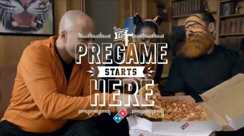 Domino's Pizza TV Spot, 'NFL Pregame' - Thumbnail 10
