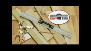 SteadyPro Ruler TV Spot - Thumbnail 1
