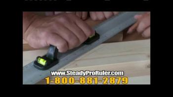 SteadyPro Ruler TV Spot - Thumbnail 7