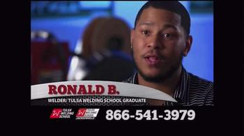 Tulsa Welding School TV Spot, 'Way to Success'