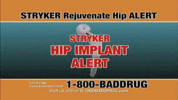 Pulaski & Middleman TV Spot, 'Hip Implant Alert' - Thumbnail 1
