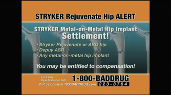 Pulaski & Middleman TV Spot, 'Hip Implant Alert' - Thumbnail 8