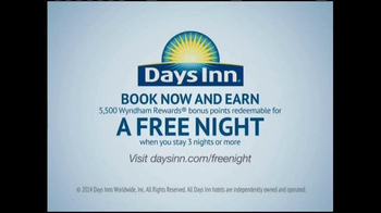Days Inn TV Spot, 'Getaway, Right Away' Song by Jess Penner - Thumbnail 10