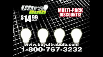 Ultra Bulb TV Spot - 13 commercial airings