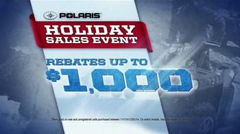 Polaris Holiday Sales Event TV Spot, 'Off-Road Vehicles' - Thumbnail 5