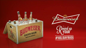 Budweiser TV Spot, 'Round Up Your #HolidayBuds' - Thumbnail 8