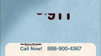 One Reverse Mortgage TV Spot, 'Largest Asset' - Thumbnail 1