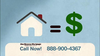 One Reverse Mortgage TV Spot, 'Largest Asset' - Thumbnail 2
