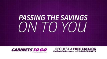 Cabinets To Go TV Spot, 'Passing the Savings Onto You' - Thumbnail 4