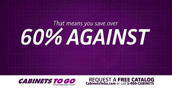 Cabinets To Go TV Spot, 'Passing the Savings Onto You' - Thumbnail 6