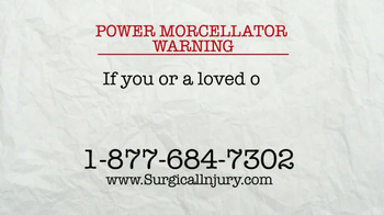 AkinMears TV Spot, 'Power Morcellator Warning' - Thumbnail 2