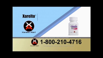 Xarelto Alert Helpline TV Spot, 'Xarelto Warning' - Thumbnail 4