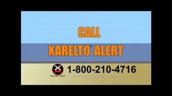 Xarelto Alert Helpline TV Spot, 'Xarelto Warning' - Thumbnail 9