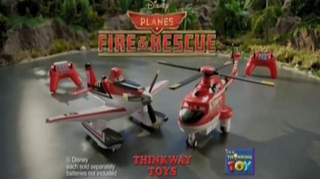 Planes: Fire & Rescue U-Command Dusty & Blade Ranger TV Spot, 'Rescue!' - Thumbnail 10
