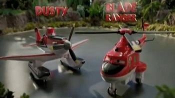 Planes: Fire & Rescue U-Command Dusty & Blade Ranger TV Spot, 'Rescue!'