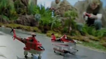 Planes: Fire & Rescue U-Command Dusty & Blade Ranger TV Spot, 'Rescue!' - Thumbnail 5