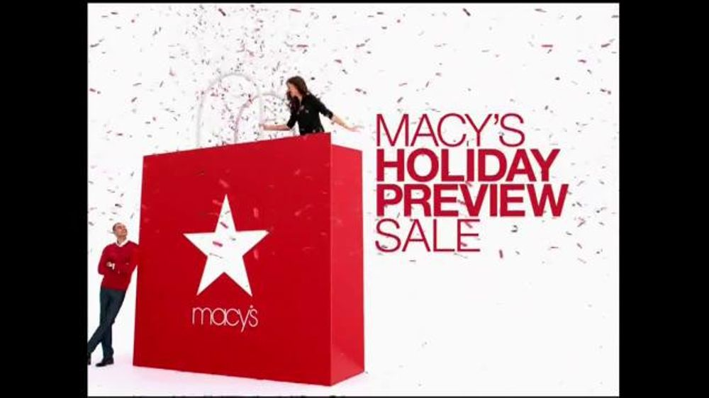 Macys Holiday Preview Sale TV Commercial Save Storewide