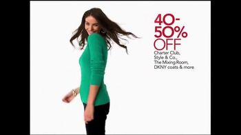 Macy's Holiday Preview Sale TV Spot, 'Save Storewide' - Thumbnail 2
