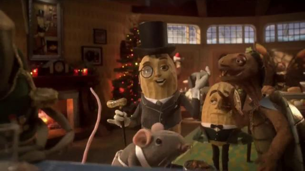 Planters Tv Commercial Mr Peanut Throws A Holiday Party