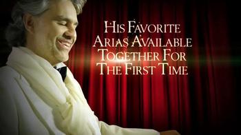 Andrea Bocelli 'Opera: The Ultimate Collection' TV Spot - Thumbnail 3