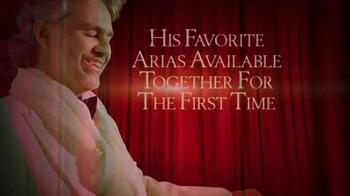 Andrea Bocelli 'Opera: The Ultimate Collection' TV Spot - Thumbnail 4