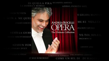 Andrea Bocelli 'Opera: The Ultimate Collection' TV Spot - Thumbnail 5