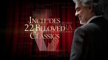 Andrea Bocelli 'Opera: The Ultimate Collection' TV Spot - Thumbnail 6