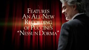 Andrea Bocelli 'Opera: The Ultimate Collection' TV Spot - Thumbnail 8