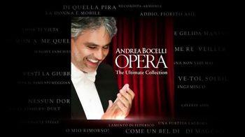 Andrea Bocelli 'Opera: The Ultimate Collection' TV Spot