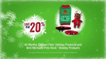 PetSmart TV Spot, 'Cute Ugly Sweater' Feat. Martha Stewart, Bret Michaels - Thumbnail 9