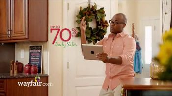 Wayfair TV Spot, 'Holiday Musical' - 3924 commercial airings
