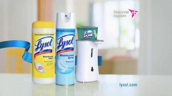 Lysol TV Spot, 'Biggest Flu Outbreak' - Thumbnail 10