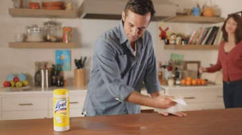 Lysol TV Spot, 'Biggest Flu Outbreak' - Thumbnail 5